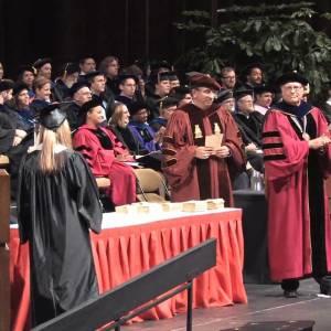 Shan Khan, the first official HUF graduate