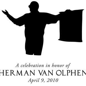 Students, colleagues, family celebrate the career of Herman van Olphen